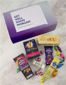 gifts: Personalised Get Well Gourmet Giftbox!