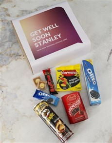 gifts: Personalised Get Well Gourmet Gift!