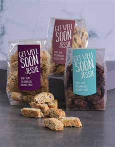 gifts: Personalised Get Well Biscotti!