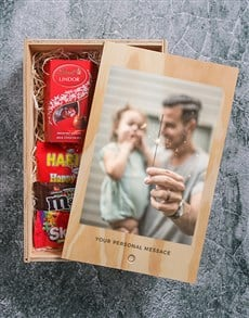 gifts: Personalised Printed Photo Man Crate!