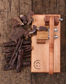 gifts: Personalised Laurel Biltong Cutter!