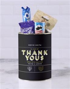 gifts: Personalised Thank Yous Bro Bucket!