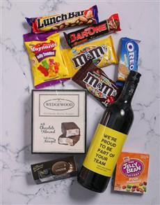 gifts: Personalised Team Player Gourmet Hamper!