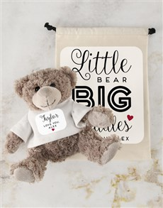 gifts: Teddy in Cuddles Drawstring Bag!