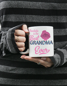 gifts: Personalised Best Grandma Mug!