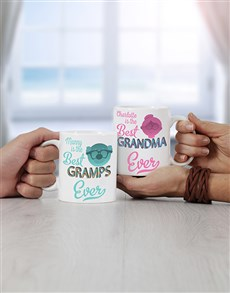 gifts: Personalised Grandpa & Grandma Mug!