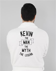 gifts: Personalised The Legend Mens Gown!