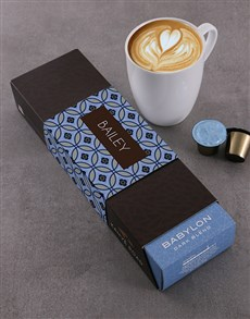gifts: Personalised Babylon Kahve Road Coffee Pods!