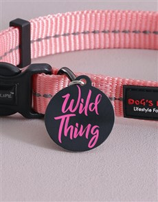gifts: Personalised Wild Thing ID Tag and Collar!