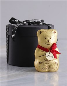 gifts: Personalised Lindt Teddy!