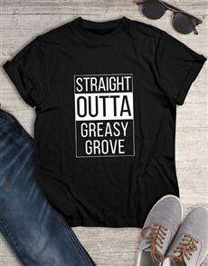 gifts: Greasy Grove Mens Tshirt!