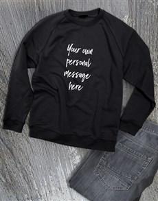 gifts: Personalised Paintbrush Ladies Sweater!