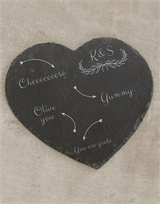 gifts: Personalised You are Grate Cheese Board!