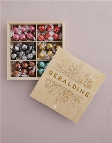 gifts: Personalised Floral Treasure Chest!