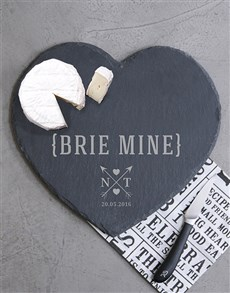 gifts: Personalised Brie Mine Cheese Board!