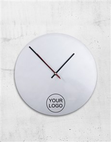 gifts: Personalised Corporate Clock!