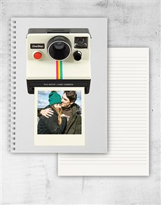 gifts: Personalised Polaroid Notebook!