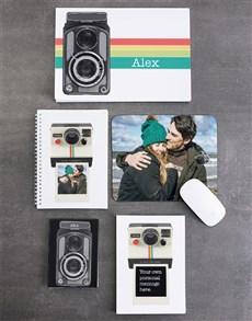 gifts: Personalised Polaroid Noteset!