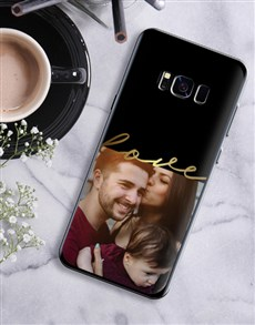 gifts: Personalised Love Photo Samsung Cover!
