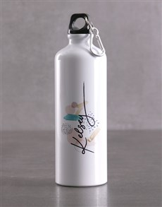 gifts: Personalised Pattern Waterbottle!