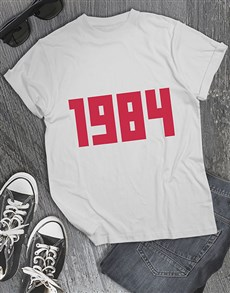 gifts: Personalised Date T Shirt !