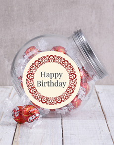 gifts: Personalised Message Candy Jar!