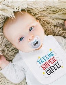 gifts: Personalised Baby Hipster Clothing Set!