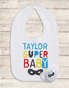 gifts: Personalised Hero Baby Gift Set!