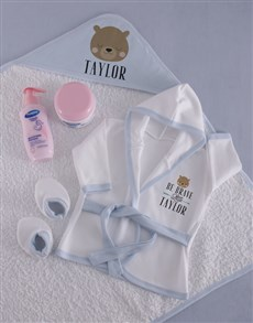 gifts: Personalised Brave Baby Spoil Set!