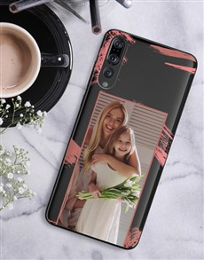 gifts: Personalised Brushstroke Photo Huawei Cover!