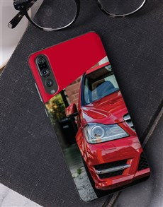 gifts: Personalised Crimson Photo Huawei Cover!