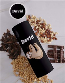 gifts: Personalised Hang In There Biltong and Nut Tube!
