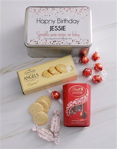 gifts: Personalised Magical Birthday Snack Tin!