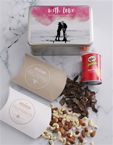 gifts: Personalised Photo With Love Snack Tin!