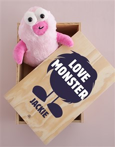 gifts: Personalised Love Monster Crate!