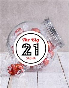 gifts: Personalised Big Birthday Candy Jar!