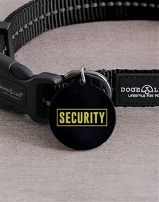 gifts: Personalised Security ID Tag And Collar!