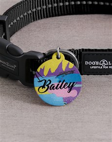 gifts: Personalised Disco ID Tag And Collar!