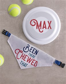 gifts: Personalised Retro Frisbee And Bandanna!