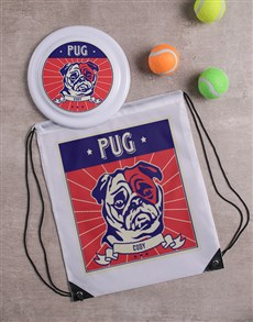 gifts: Personalised Pug Dog Set!
