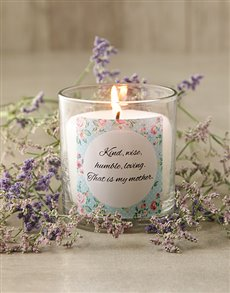 gifts: Personalised Pastel Message Candle!