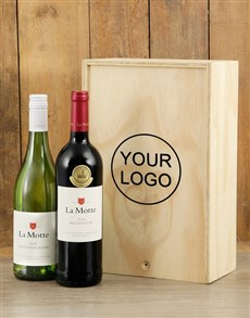 gifts: Customised  Printed Double Wine Crate!