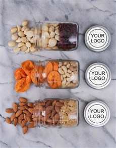 gifts: Customised Fruit and Nut Jars!