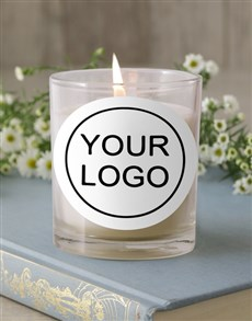 gifts: Personalised Corporate Image Candle!