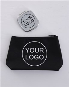 gifts: Personalised Corporate Cosmetic Bag!