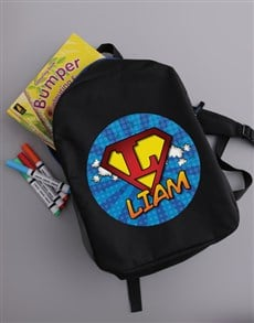 gifts: Personalised SuperKid Backpack!