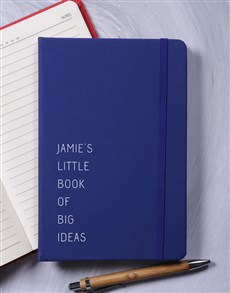 gifts: Personalised Big Ideas A5 Notebook!
