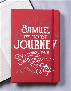 gifts: Personalised Journey A5 Notebook!