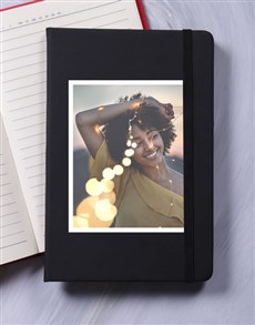 gifts: Personalised Photo A5 Notebook!