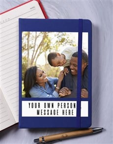 gifts: Personalised Image Note A5 Notebook!